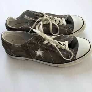 Men's Converse One Star sneakers.
